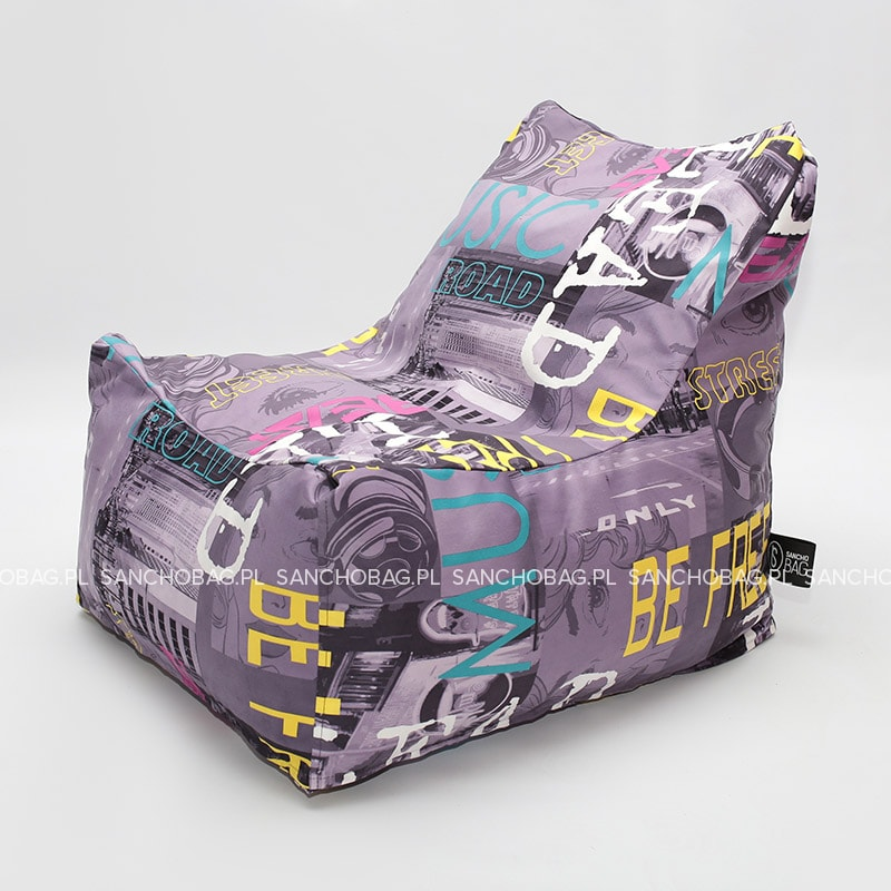 Fotel pufa Dzik print SanchoBag
