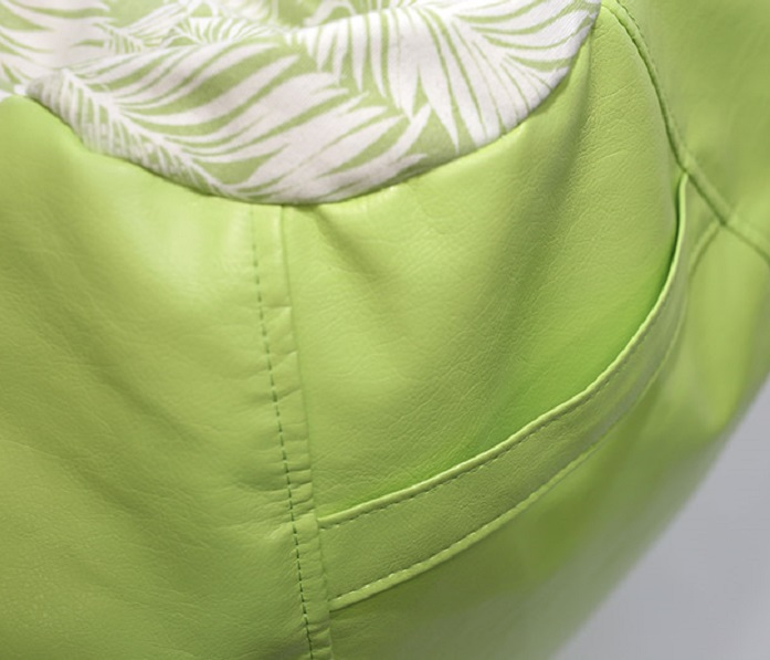 Pufa młodzieżowa Green/Leaf SanchoBag
