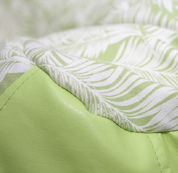 Puff mlodziezowy Green/Leaf SanchoBag