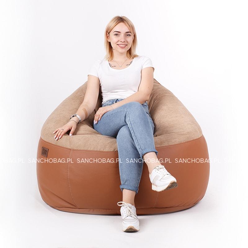 Pufa młodzieżowa Cocoa/Caramel SanchoBag